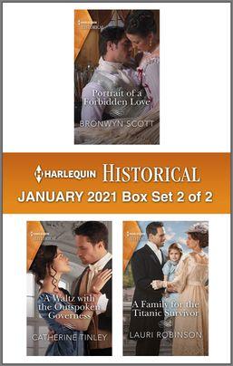 Harlequin Historical January 2021 - Box Set 2 of 2 by Bronwyn Scott, Lauri Robinson, Catherine Tinley