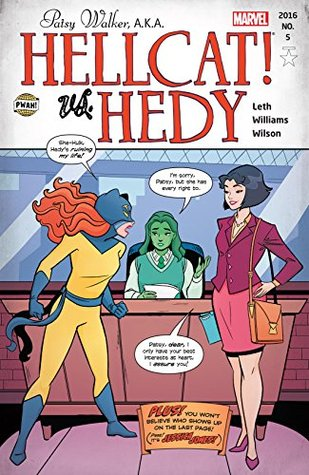 Patsy Walker, A.K.A. Hellcat! #5 by Brittney Williams, Megan Wilson, Clayton Cowles, Kate Leth
