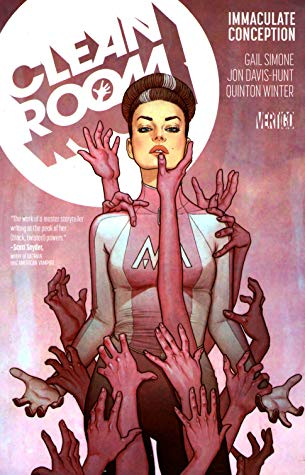 Clean Room, Vol. 1: Immaculate Conception by Jenny Frison, Gail Simone, Jon Davis-Hunt, Todd Klein, Quinton Winter
