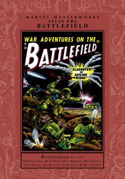 Marvel Masterworks: Atlas Era Battlefield, Vol. 1 by Hank Chapman, Joe Maneely, Carl Wessler, Vern Henkel, Mac Pakula, Russ Heath, Gene Colan, Don Rico, Paul Reinman, Bill Everett
