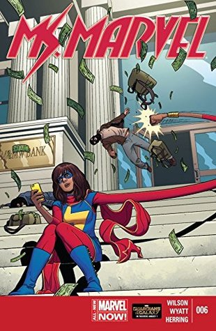 Ms. Marvel (2014-2015) #6 by Jamie McKelvie, G. Willow Wilson, Jake Wyatt, Jacob Wyatt