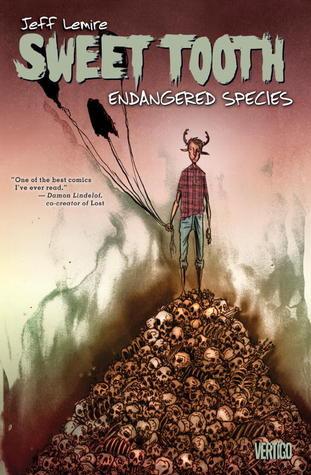 Sweet Tooth, Volume 4: Endangered Species by Carlos M. Mangual, José Villarrubia, Jeff Lemire