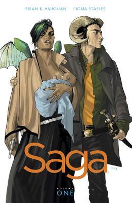 Saga Volume 1 by Brian K. Vaughan