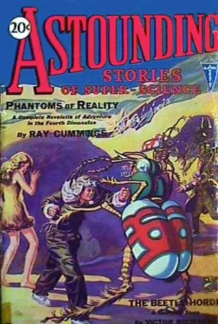 Astounding Stories of Super-Science January 1930 by Ray Cummings, Murray Leinster, M.L. Staley, C.V. Tench, Anthony Pelcher, Victor Rousseau, S.P. Meek, Harry Bates