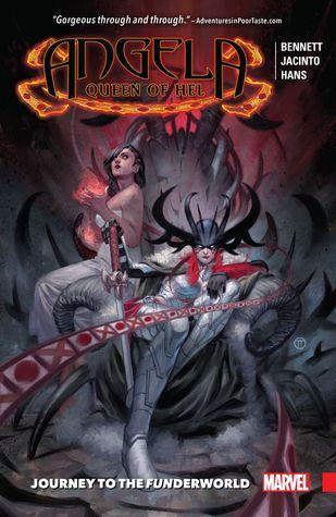 Angela: Queen of Hel: Journey to the Funderworld by Kim Jacinto, Marguerite Bennett, Stephanie Hans