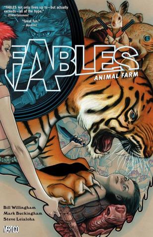Fables, Vol. 2: Animal Farm by Mark Buckingham, Steve Leialoha, Bill Willingham, James Jean