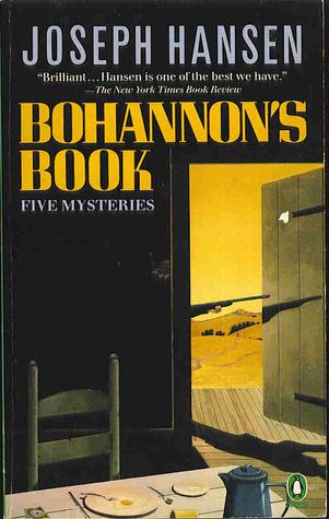 Bohannon's Book by Joseph Hansen