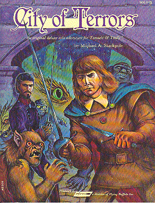 City of Terrors by Elizabeth Danforth, Michael A. Stackpole