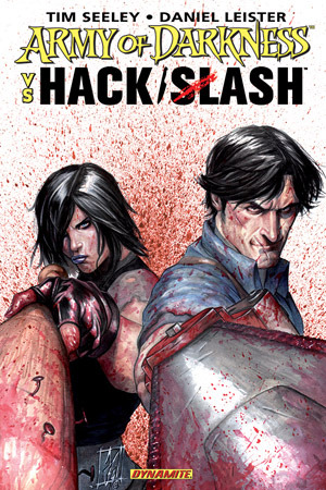 Army of Darkness vs. Hack/Slash by Daniel Leister, Tim Seeley, Stefano Caselli