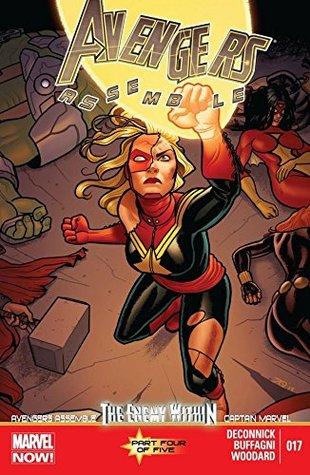 Avengers Assemble #17 by Pepe Larraz, Nolan Woodard, Kelly Sue DeConnick, Joe Quiñones, Matteo Buffagni