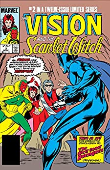 Vision and the Scarlet Witch (1985-1986) #2 by Steve Englehart