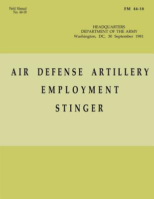 Air Defense Artillery Employment, Stinger (FM 44-18) by Department Of the Army