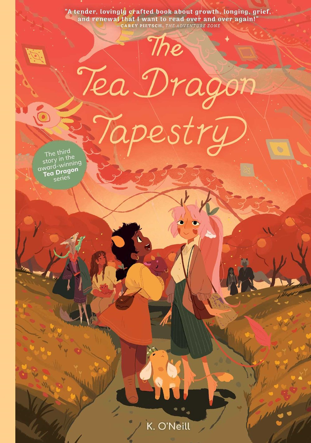 The Tea Dragon Tapestry by K. O'Neill
