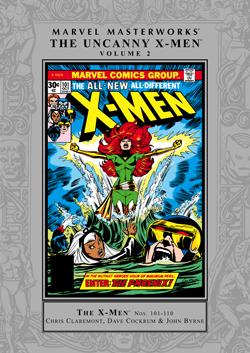 Marvel Masterworks: The Uncanny X-Men, Vol. 2 by Dave Cockrum, John Byrne, Terry Austin, Bob Brown, Tony DeZúñiga, Bill Mantlo, Chris Claremont