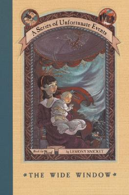 The Wide Window by Lemony Snicket