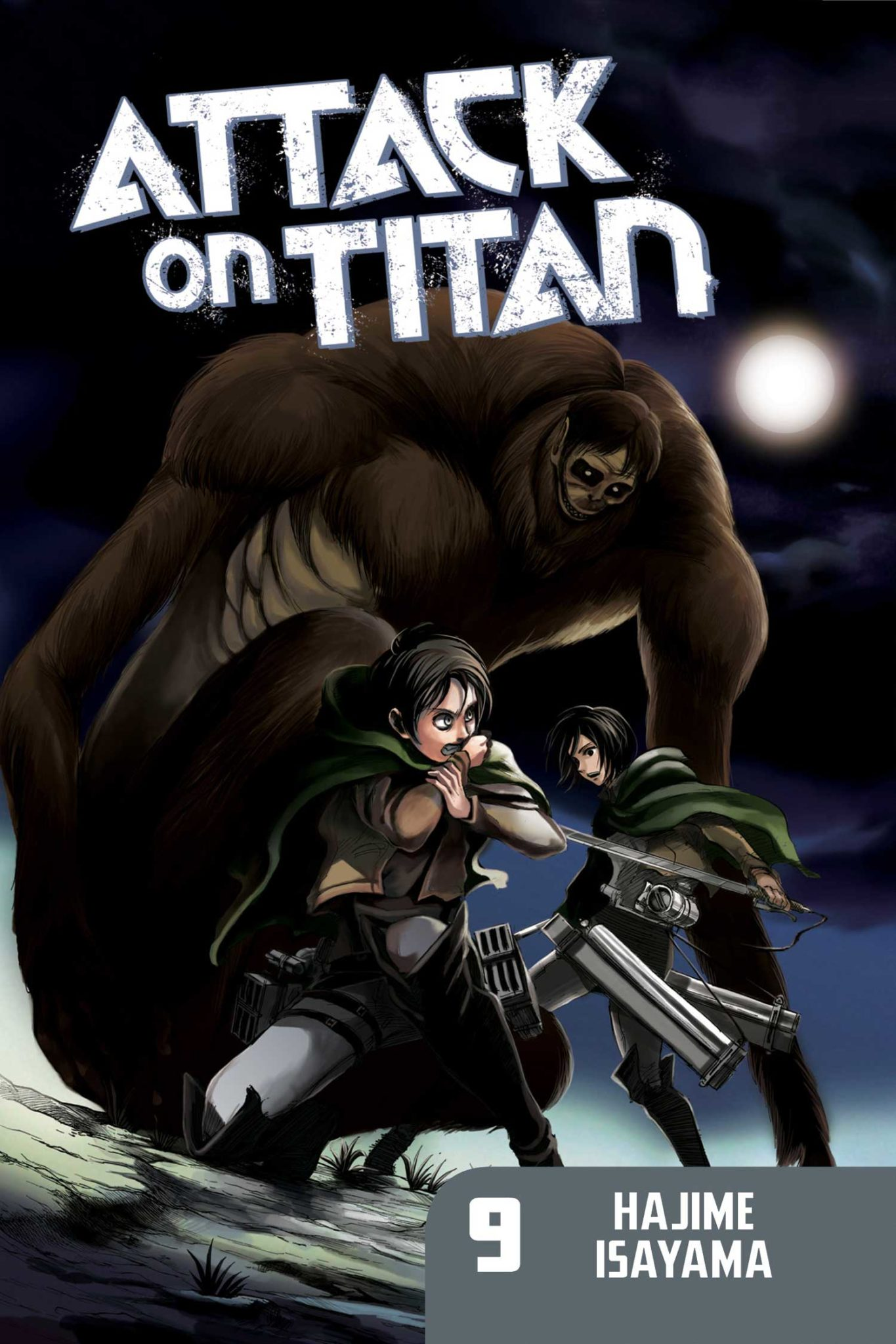 Attack on Titan, Volume 9 by Hajime Isayama