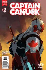 Captain Canuck #1 by Kalman Andrasofszky