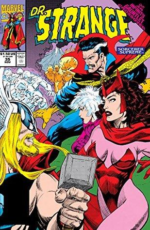 Doctor Strange: Sorcerer Supreme #35 by Dann Thomas, Dan Lawlis, Chris Ivy, Roy Thomas