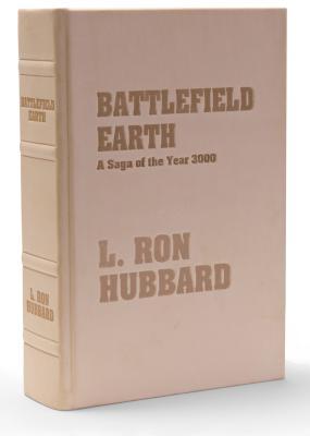 "Battlefield Earth ""Windsplitter"" First Edition Leatherbound by L. Ron Hubbard"