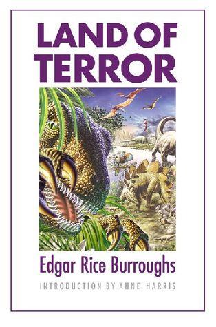 Land of Terror by Roy G. Krenkel, Edgar Rice Burroughs, Anne Harris
