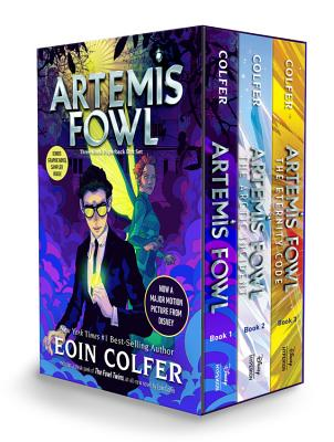 Artemis Fowl 3-Book Paperback Boxed Set by Eoin Colfer