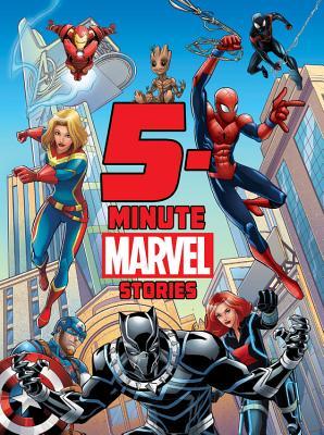 5-Minute Marvel Stories by Andy Schmidt, Marvel Press Book Group, Brandon T. Snider