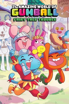 The Amazing World of Gumball Original Graphic Novel: Fairy Tale Trouble by Ben Bocquelet, Megan Brennan, Jeremy Lawson