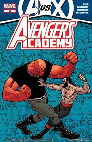 Avengers Academy #30 by Bill Rosemann, Chris Sotomayor, Christos Gage, Cory Hamscher, Joe Caramagna, Tom Grummett