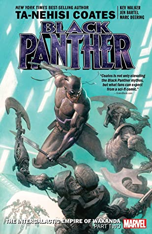 Black Panther, Vol. 7: The Intergalactic Empire of Wakanda, Part Two by Kev Walker, Jen Bartel, Ta-Nehisi Coates