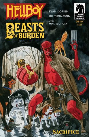 Beasts of Burden/Hellboy: Sacrifice by Mike Mignola, Jill Thompson, Evan Dorkin