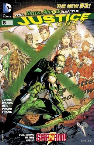 Justice League #8 by Carlos D'Anda, Gary Frank, Geoff Johns, Ivan Reis