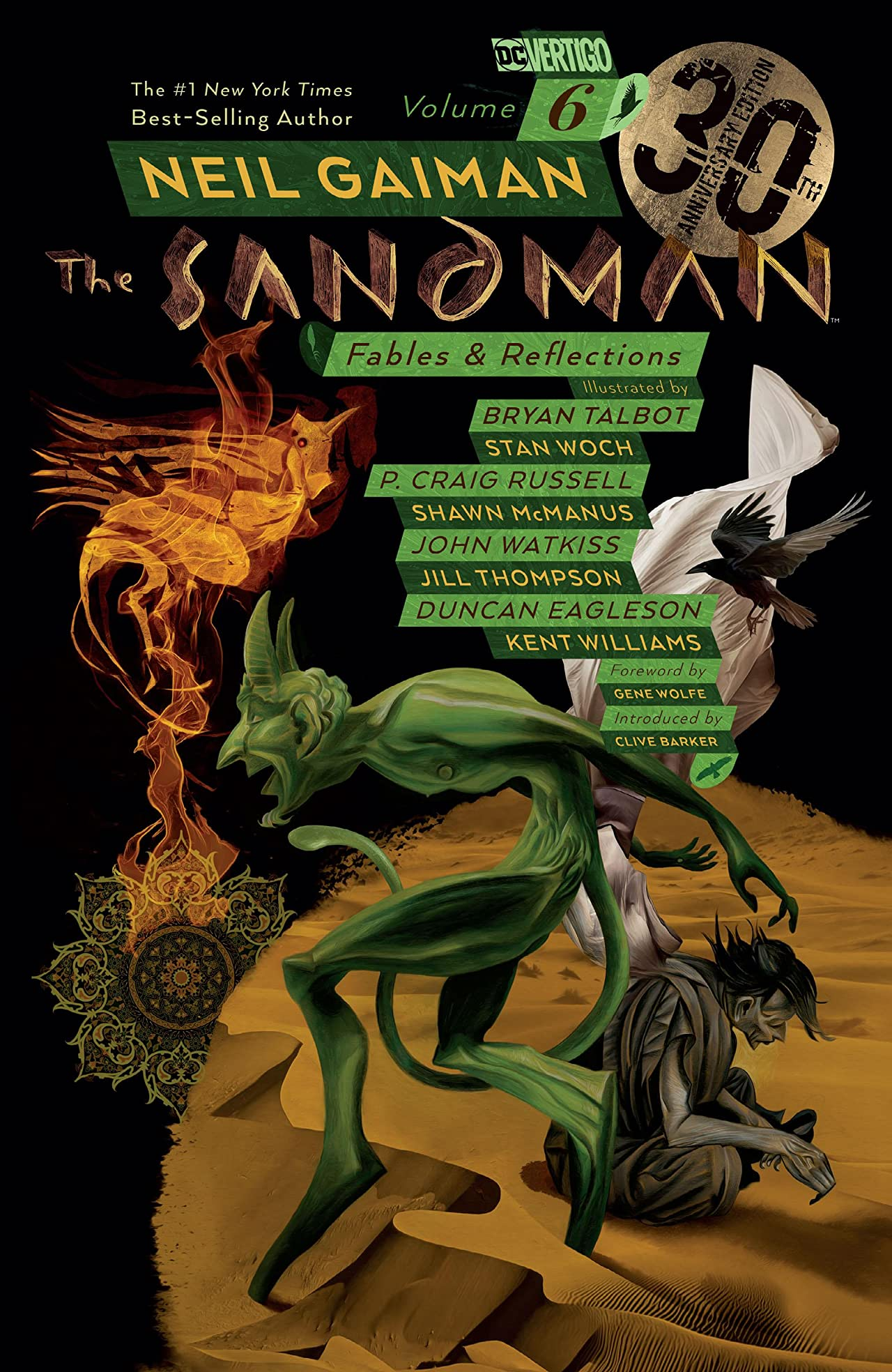 The Sandman, Vol. 6: Fables & Reflections - 30th Anniversary Edition by Neil Gaiman