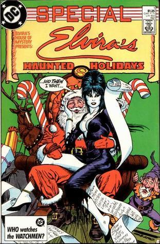 Elvira's House of Mystery Special: Elvira's Haunted Holidays #1 by Frank Springer, Paul Gulacy, Stephen DeStefano