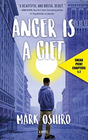 Anger Is a Gift Sneak Peek by Mark Oshiro