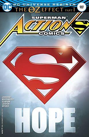 Action Comics #987 by Nick Bradshaw, Viktor Bogdanovic, Michael Spicer, Jonathan Glapion, Dan Jurgens, Brad Anderson