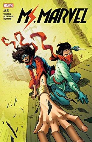 Ms. Marvel (2015-2019) #23 by Diego Olortegui, G. Willow Wilson, Valerio Schiti