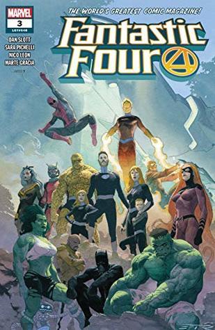 Fantastic Four (2018-) #3 by Dan Slott, Nico Leon, Sara Pichelli, Esad Ribić