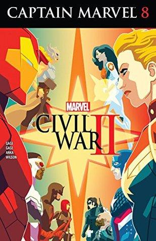 Captain Marvel #8 by Christos Gage, Kris Anka, Ruth Gage
