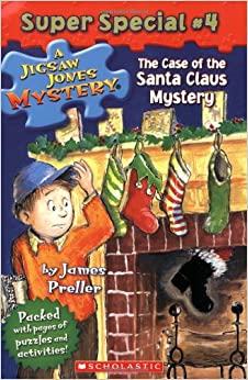 Case Of The Santa Claus Mystery by James Preller