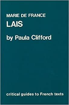Les Lais De Marie France by Paula M. Clifford, Marie de France