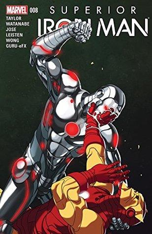 Superior Iron Man #8 by Yildiray Cinar, Mike Choi, Felipe Watanabe, Tom Taylor