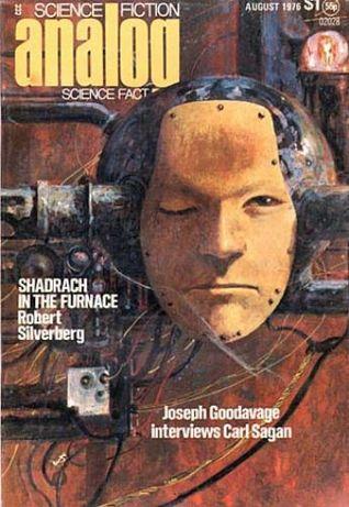 Analog Science Fiction and Fact, 1976 August by A. Bertram Chandler, Eric Vinicoff, Bud Sparhawk, Ben Bova, Robert Silverberg, Marcia Martin