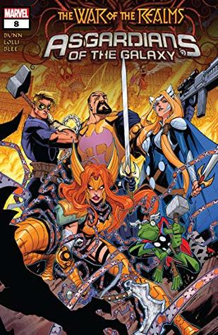 Asgardians of the Galaxy (2018-) #8 by Gerardo Sandoval, Matteo Lolli, Cullen Bunn