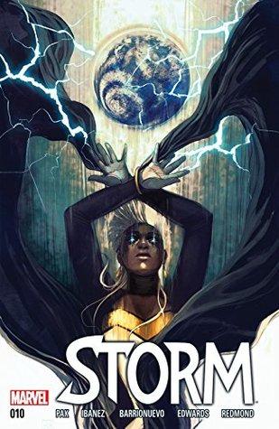 Storm #10 by Greg Pak, Víctor Ibáñez, Stephanie Hans