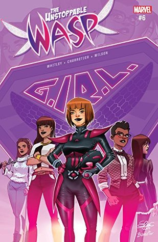 The Unstoppable Wasp #6 by Jeremy Whitley, Elsa Charretier