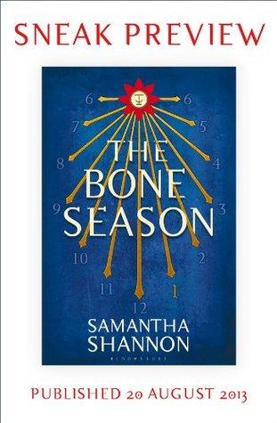 The Bone Season: Sneak Preview by Samantha Shannon