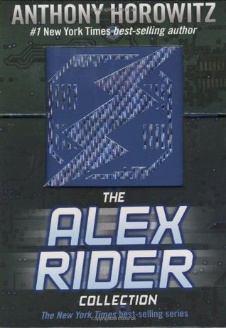 Alex Rider Boxed Set, #1-3 by Anthony Horowitz