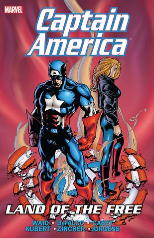 Captain America: Land of the Free by Patrick Zircher, Bill Rosemann, Andy Kubert, Tom DeFalco, Ron Frenz, Mark Waid, Joe Casey, Dan Jurgens