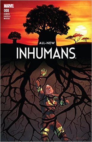 All-New Inhumans #8 by Jamal Campbell, James Asmus, Stefano Caselli