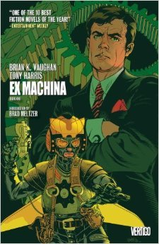 Ex Machina, Book One by Tony Harris, Brian K. Vaughan